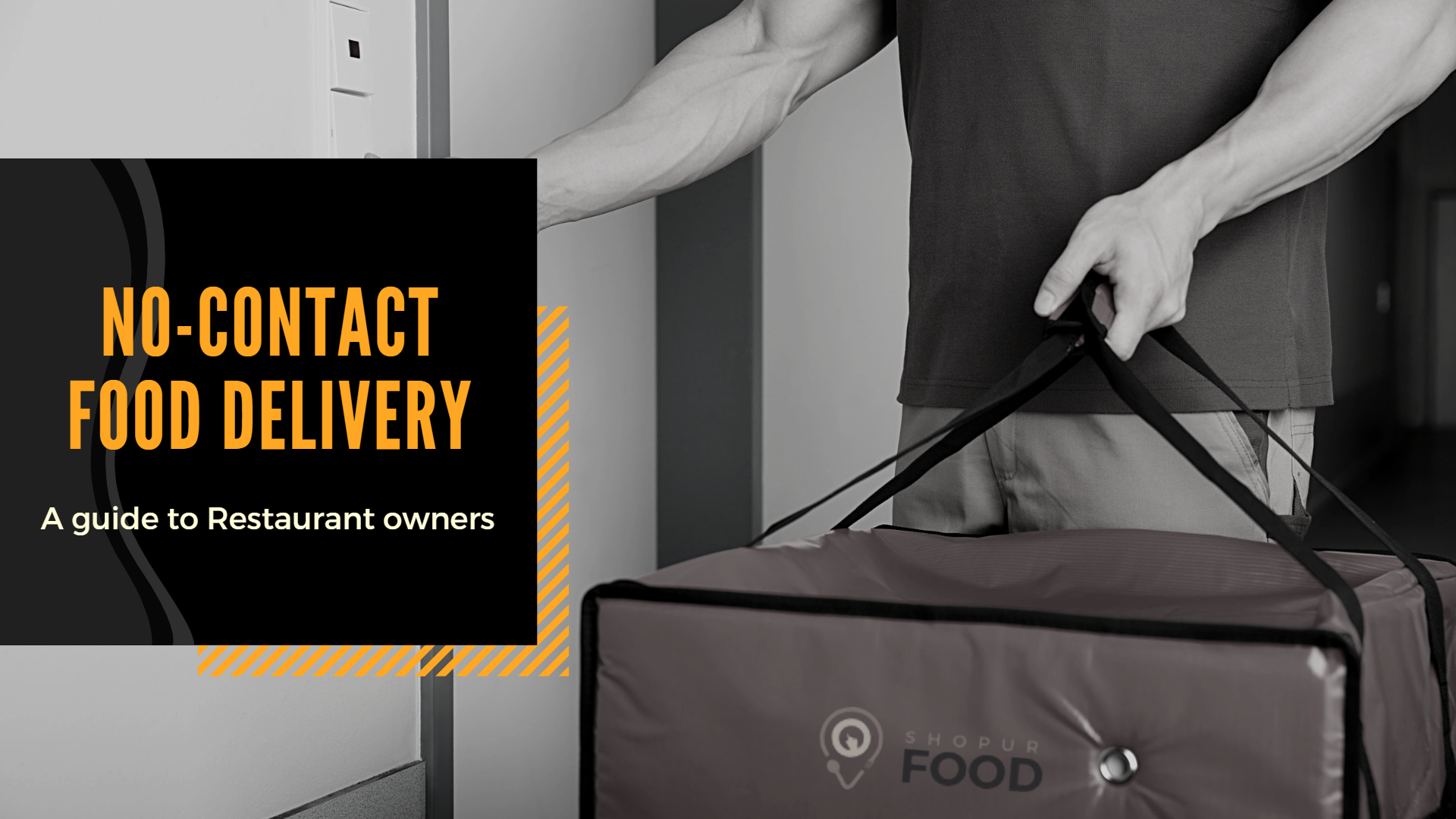 contactless food delivery