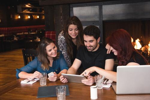 Creative interesting content for restaurant