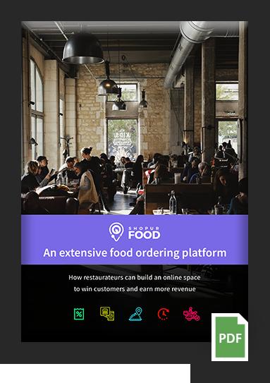 Extensive food ordering platform