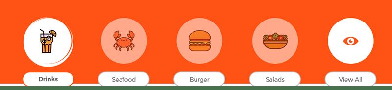 restaurant categories